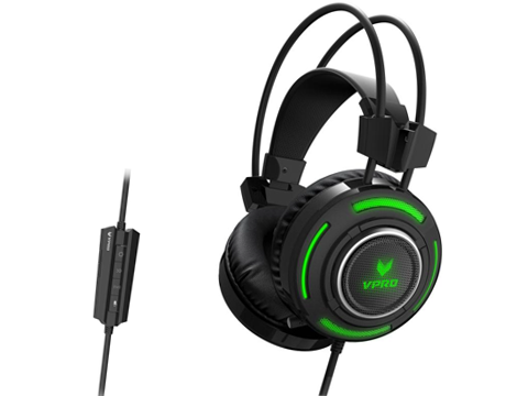 RAPOO VPRO GAMING HEADSET WIRED VH600 7.1 CH - BLK