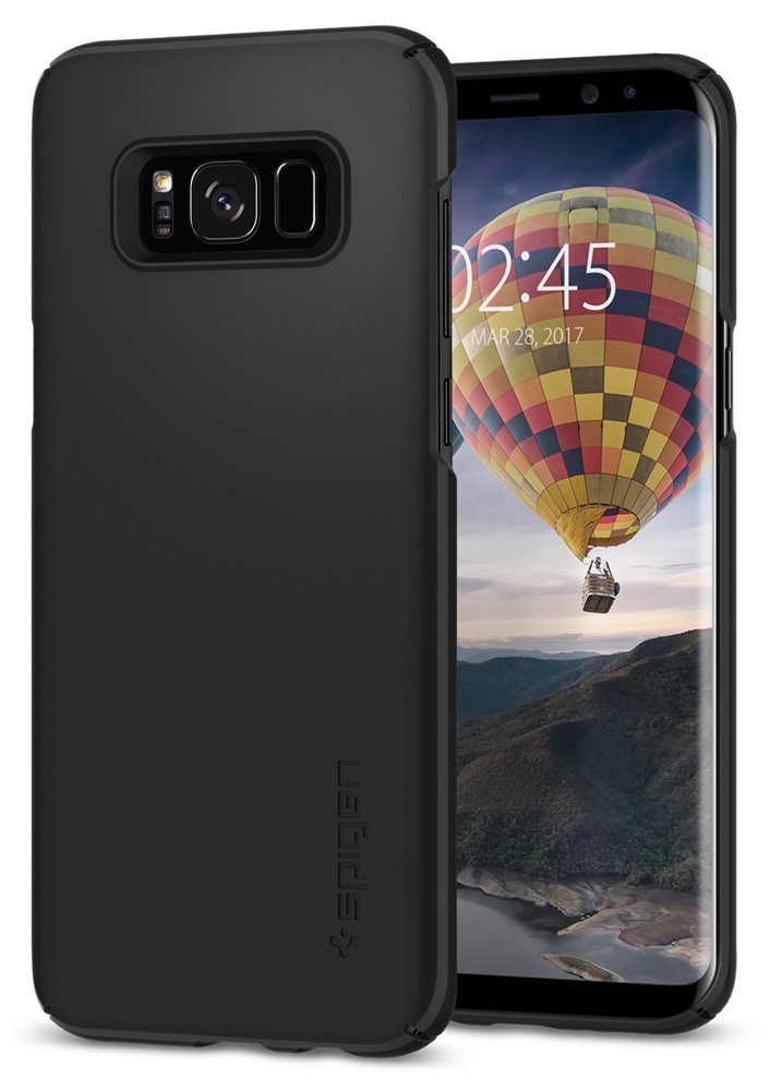 Spigen Galaxy S8 Case Thin Fit Black (SF coated)