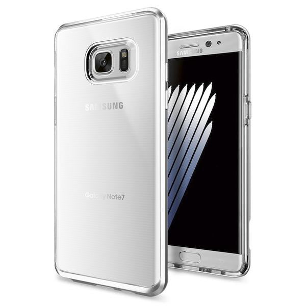 Spigen Galaxy Note 7 Case Neo Hybrid Crystal Satin Silver