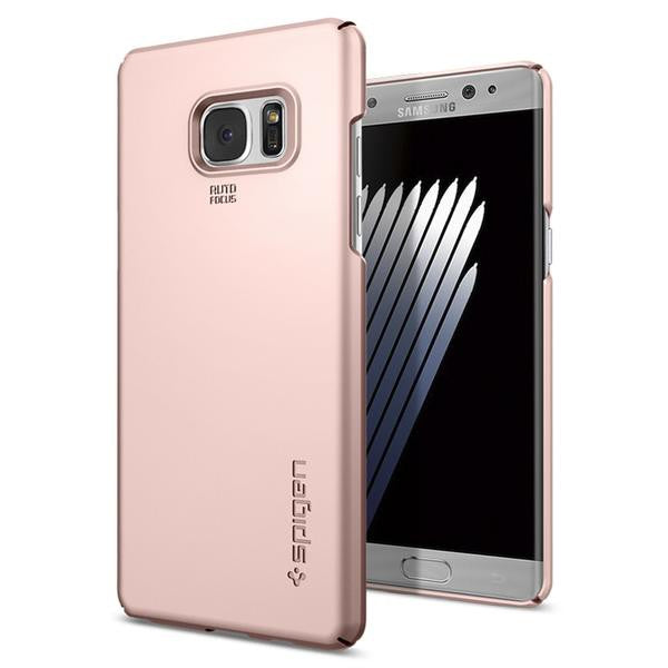 Spigen Galaxy Note 7 Case Thin Fit Rose Gold