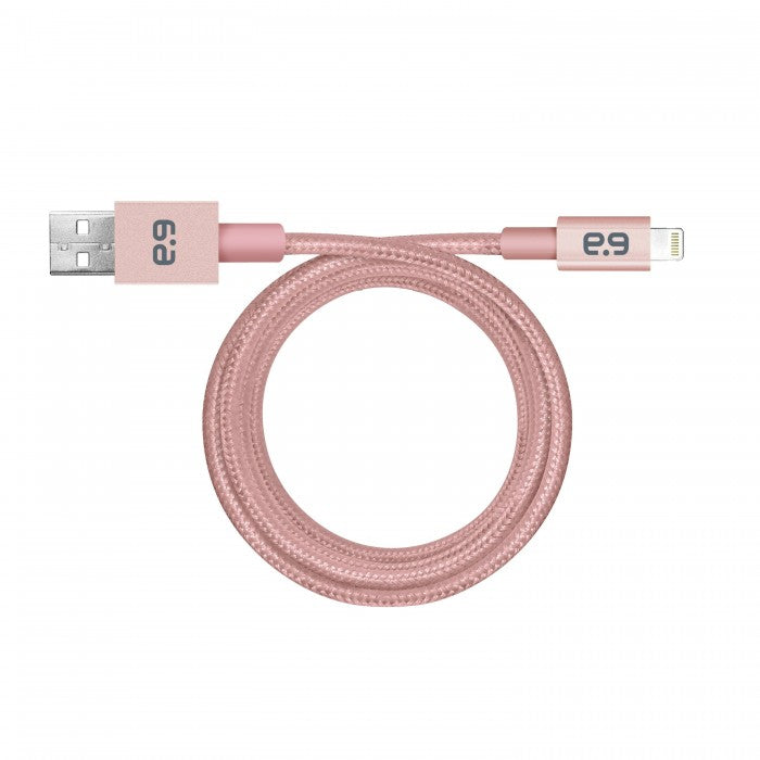 "Puregear 48"", Metallic Apple Lightning Usb Cable Rose Gold"