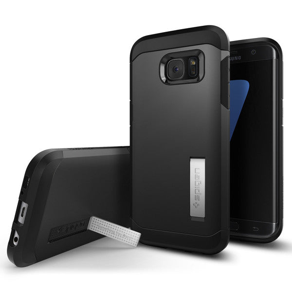 Spigen Galaxy S7 Edge Case Tough Armor Black