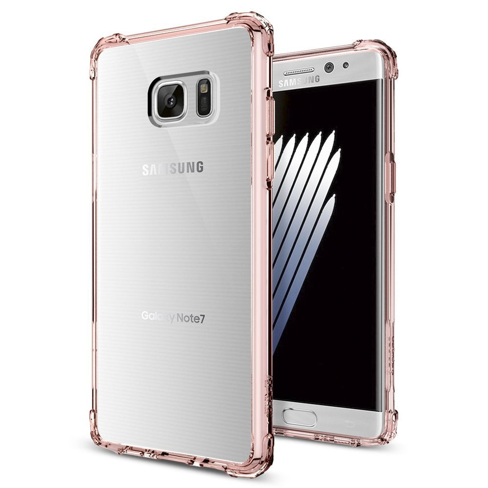 Spigen Galaxy Note 7 Case Crystal Shell Rose Crystal (Retail)