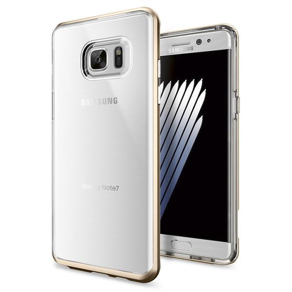 Spigen Galaxy Note 7 Case Neo Hybrid Crystal Champagne Gold