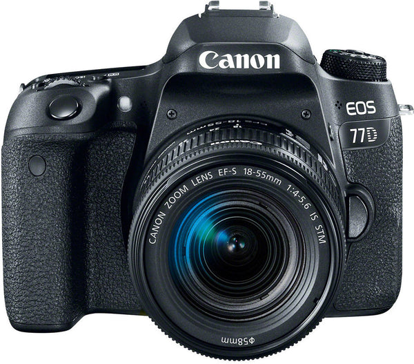 Canon EOS77D Digital SLR Camera W/EFS 1855mm IS STM Lens