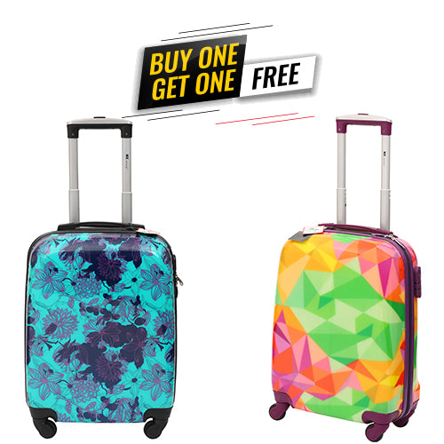 MX Designer Trolley Bag - Buy One Get One Free