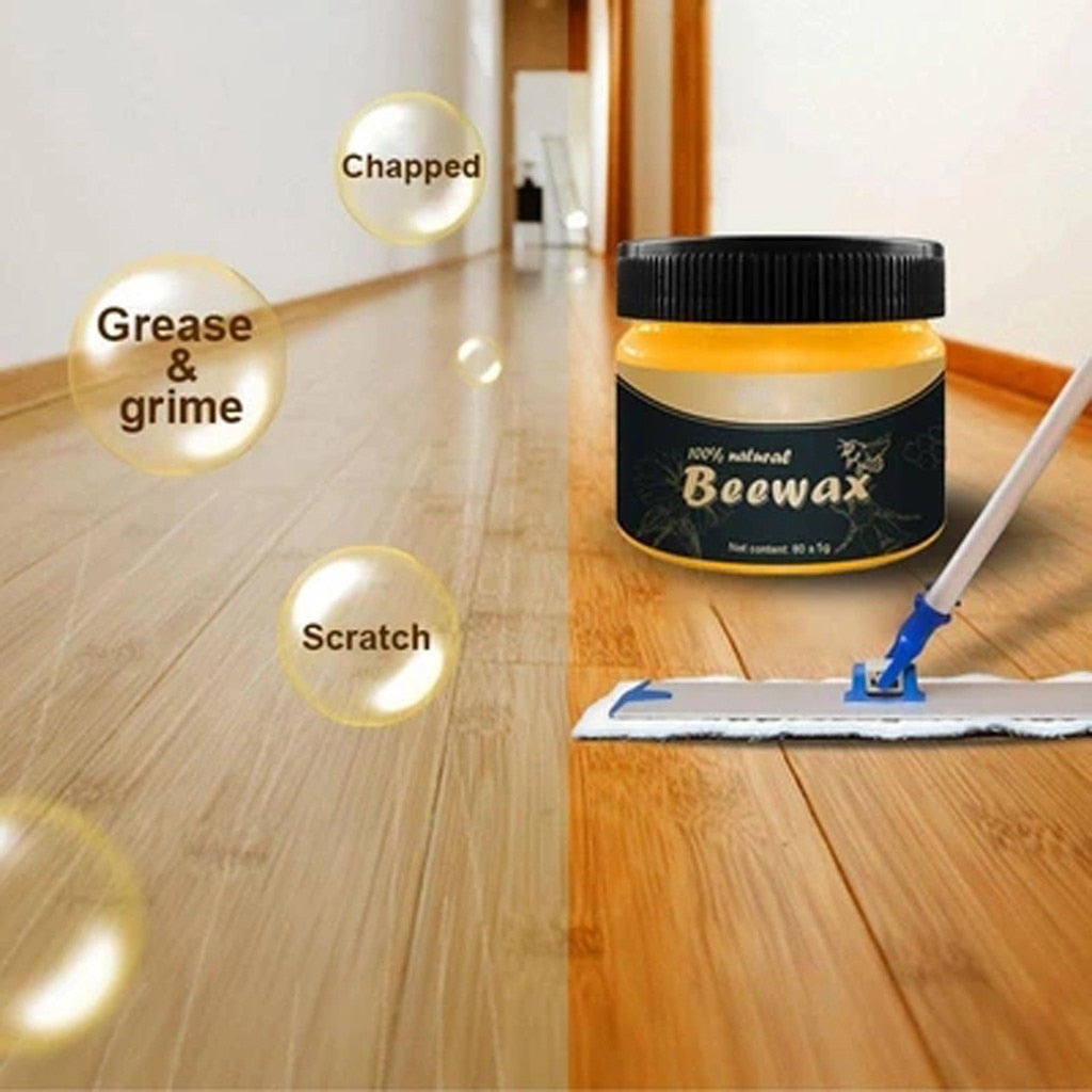 200/20g Wood Seasoning Beewax Cleans and polishes wood floors Complete Solution Furniture Care Beewax Home Cleaning car Cleaning