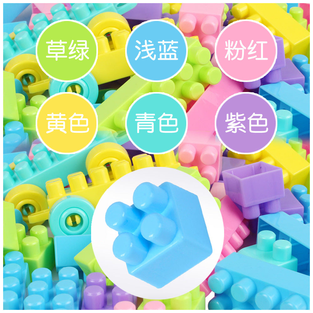 2018 explosion models large particles building blocks children's building blocks baby kindergarten early education puzzle spell