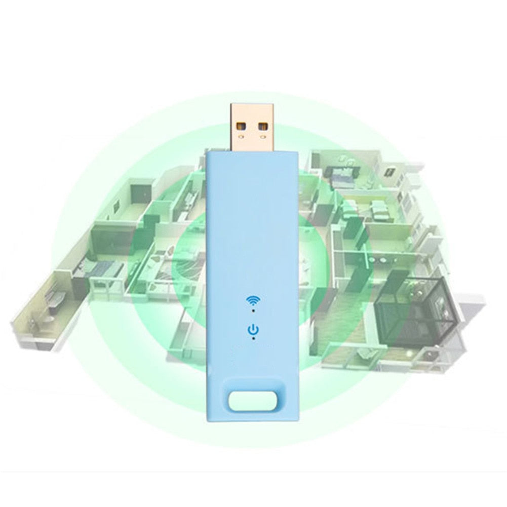2019 Hot 300Mbps Mini USB Wireless WiFi Receiver Repeater Range Extender Signal Amplifiers Expander for DOY