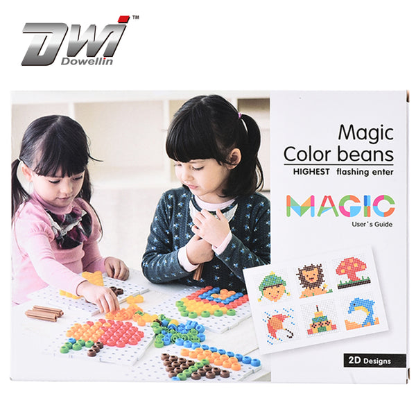Magic Color Blocks Special Style Intelligence Toys,Toys Bean Set