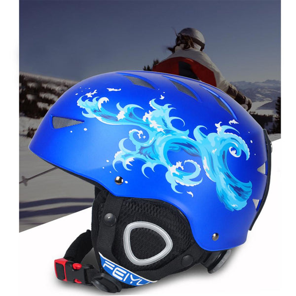2019 New Children's Ski Helmet Winter Helmet Snow Bike Sports Skateboard, Skiing, Snowboarding, Child Safety Helmet Kids Safety