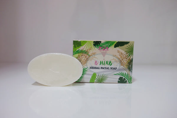B HERB Herbal Facial Soap