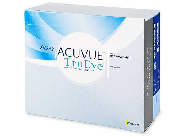 Eye Wear - ACUVUE TRUEYE 180PK - CORRECTIVE CONTACT LENSES