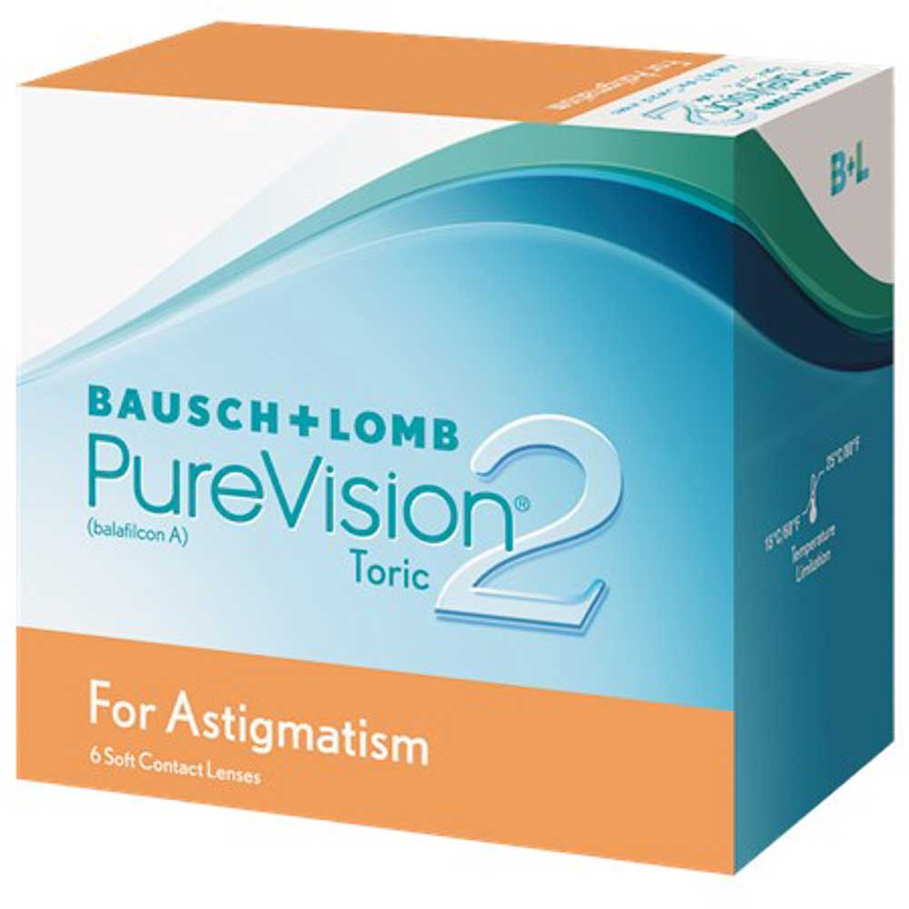 BAUSCH + LOMB PURE VISION2 ASTIGMATIC