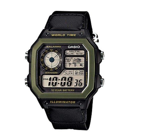 Casio Watch For Men AE1200WHB-1BVDF