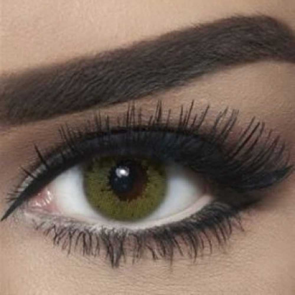 Bella LIME GREEN Colored Contact Lenses