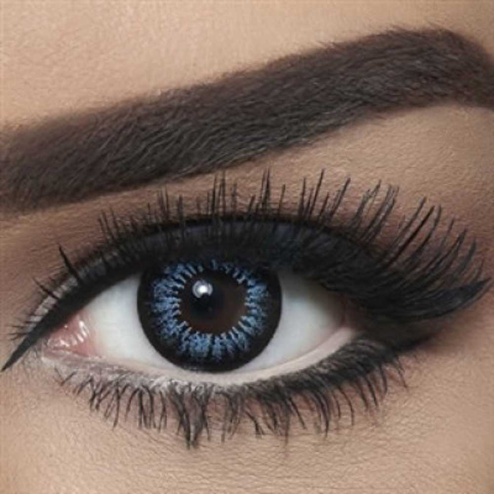 Bella Blue Colored Contact Lenses