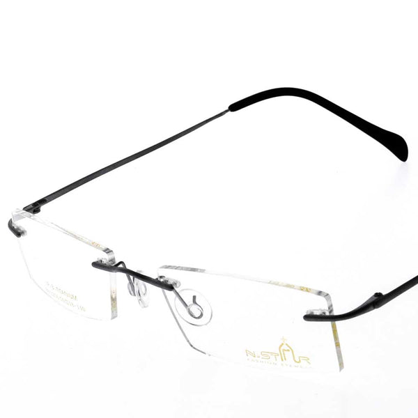 Eye Wear - N.STAR BN1256 - RIM LESS WITH UNBREAKABLE LENS