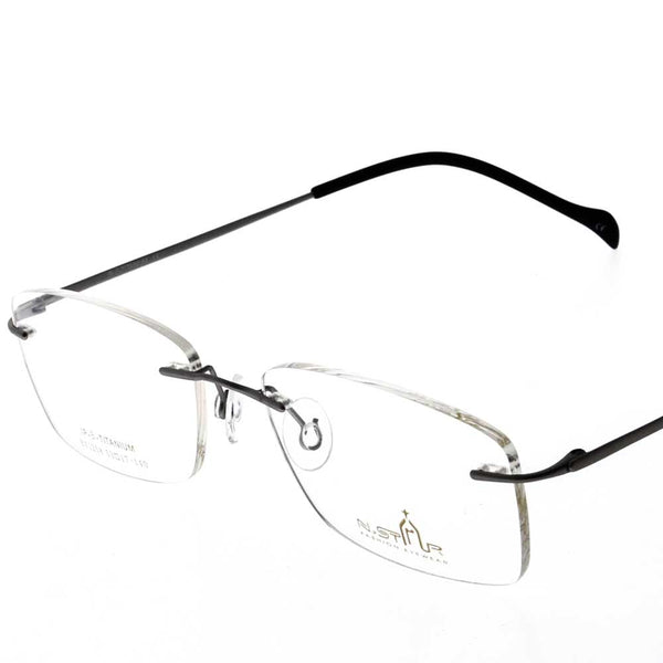 Eye Wear - N.STAR BN1258 - RIM LESS WITH UNBREAKABLE LENS