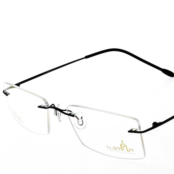 Eye Wear - N.STAR N1121 - RIM LESS WITH UNBREAKABLE LENS