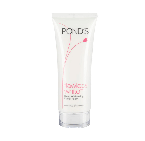 Ponds Flawless White Deep Whitening Facial Foam 100gm