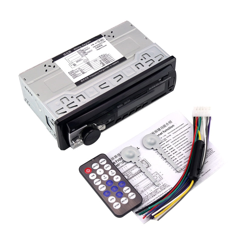 24V Car Radio Car Stereo Bluetooth JSD520 In-dash 1 Din FM Aux Input Receiver SD USB MP3 ISO Connector autoradio oto teypleri