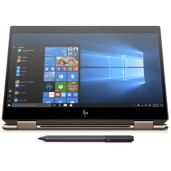 HP Spectre x360 13-AP0013NE Convertible Touch Laptop – Core i7 1.8GHz 16GB 512GB Shared Win10 13.3inch FHD Dark Ash Silver