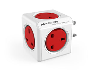 Allocacoc PowerCube Original UK;  RED