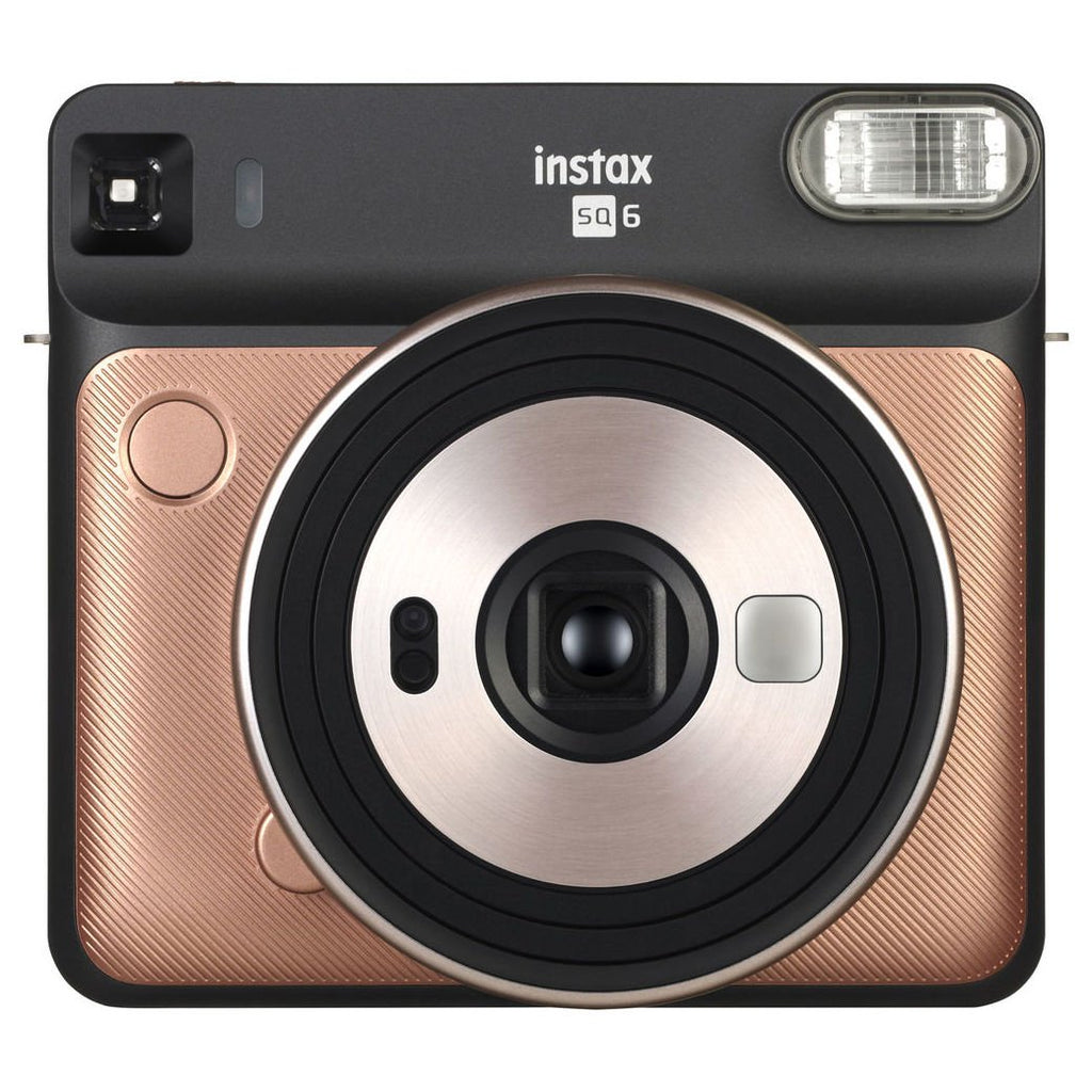 Fujifilm instax SQUARE SQ6 Instant Film Camera Blush Gold