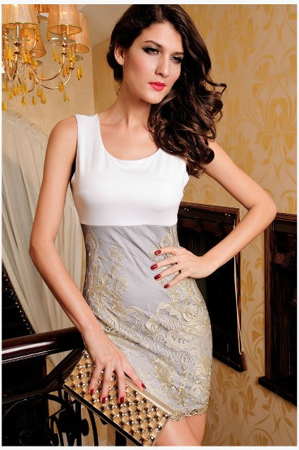 White Short Dress For Women