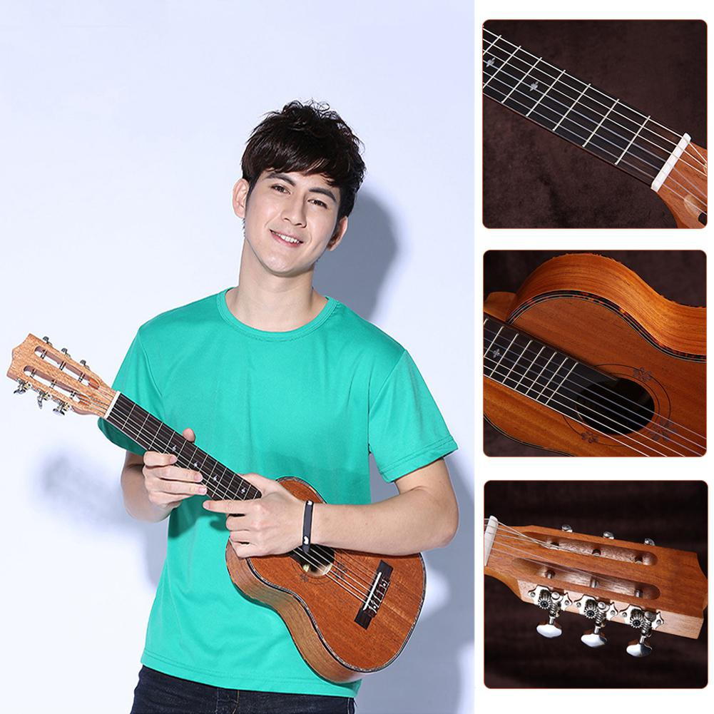 30 Inch 20 Fret Guitar Guitarlele Ukulele 6 Strings Guitarlele acoustic guitar telecaster Hawaiian Guitar Musical Instruments