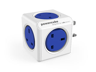 Allocacoc PowerCube Original UK;  BLUE