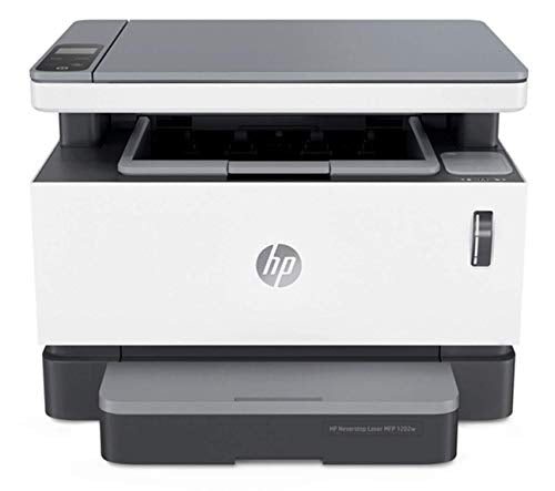 HP Neverstop All-in-One Laser Printer 1202w | Wireless Laser with Cartridge-Free Monochrome-Toner-Tank (5HG82A)