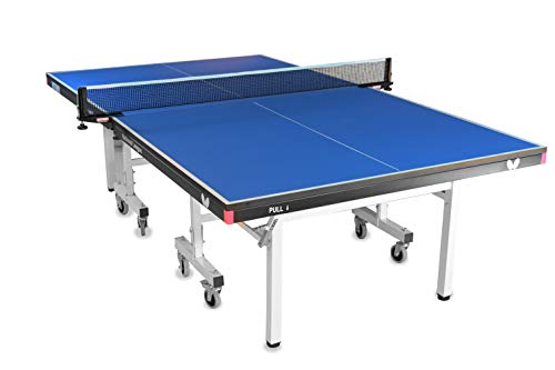 Butterfly National League 25 Ping Pong Table | Professional Ping Pong Table | 10 Minute Quick Assembly Table Tennis Table | 25mm Indoor Folding Ping Pong Table | Tournament Level Game Table