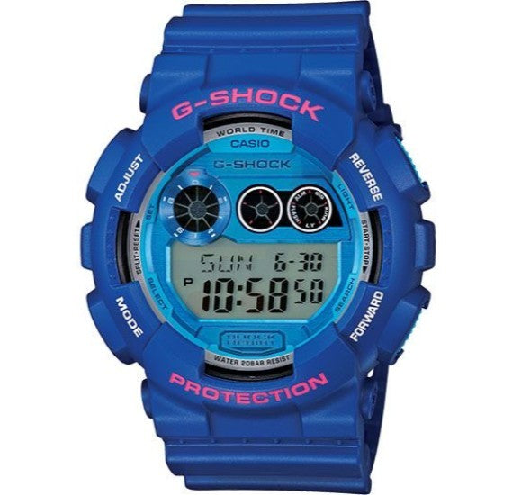 Casio G-Shock Digital Dial Resin Band Watch For Men - GD-120TS-2D