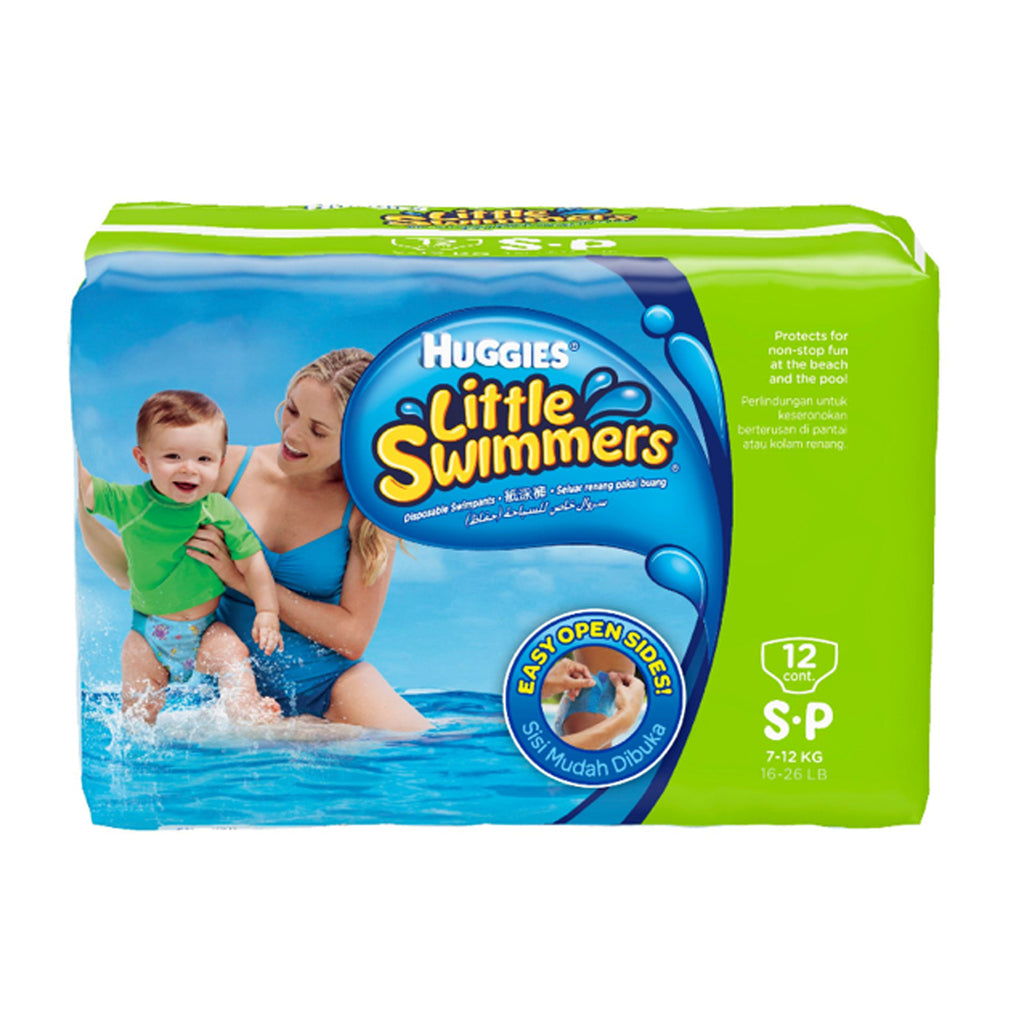 Huggies Little Swimmer Pants 7-12kg, Small 12pcs