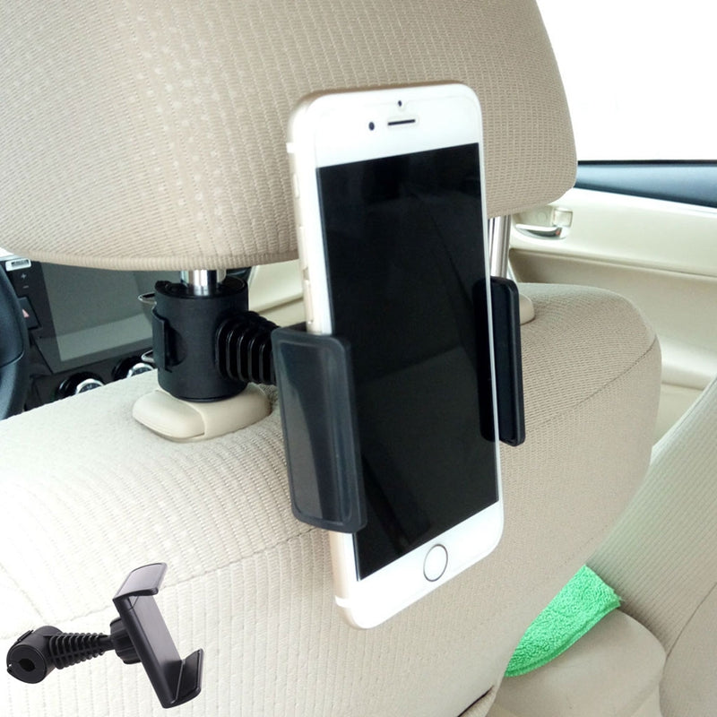 360° Rotating Car/Truck Back Seat Headrest Phone Mount Holder For Smartphone GPS