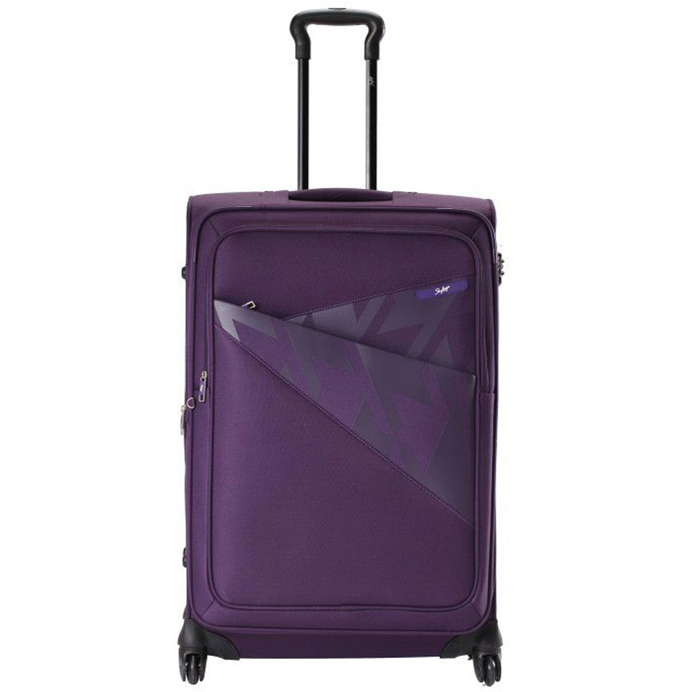 VIP Luggage Venice 4 Wheel 55cm Purple Cabin Trolley ، VENICE55PU