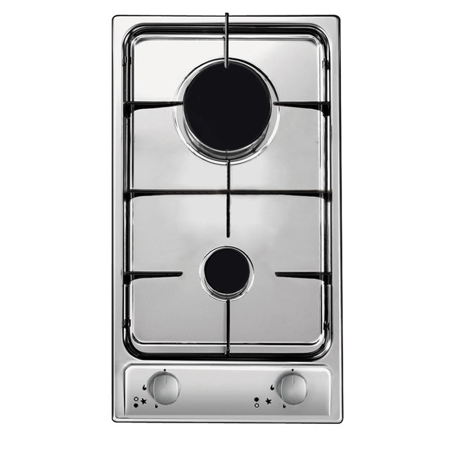 CANDY BI DOMINO GAS HOB W/2 BURNER CDG32/1SPX