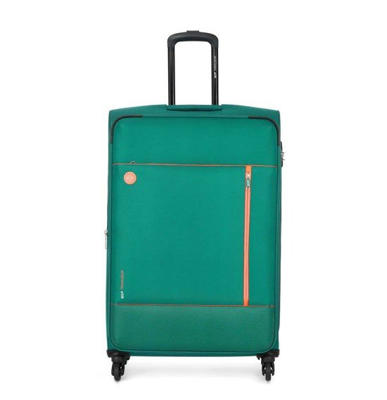 VIP Parker 69cm، 4 Wheel Medium Size Trolley Green، PARKER69GN