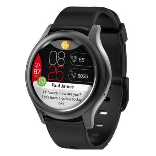 MyKronoz ZEROUND3 Smart Watch – Black