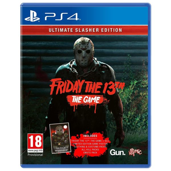 PlayStation Games - PS4 Friday The 13th Ultimate Slasher Edition Game | Buy online in Bahrain