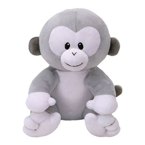 TY Baby Pookie Monkey Grey Regular