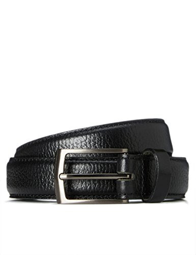 find. Standard Men's Leather Formal Belt, Black, L
