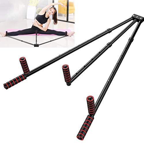 FIGROL Leg Stretcher Leg Split Stretging Machine Stretging Equipment Flexible for Ballet، Yoga، Dance، MMA، Taekwondo & Gymnastics (أسود)