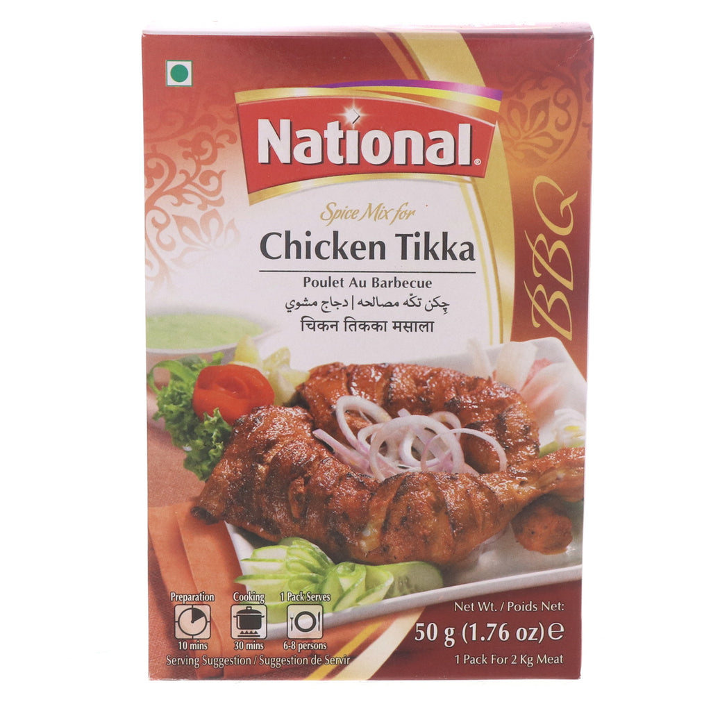 National Spice Mix For Chicken Tikka 50g