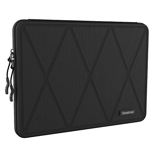 Smatree Hard Shell Laptop Sleeve Bag Compatible for MacBook Pro 2020/2019/2018/2017 13.3 inch, iPad Pro 12.9 inch, Samsung Chromebook 3/ASUS ZenBook 13in,Slim and Anti-Shock