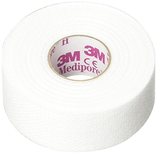 "3M Medipore H Cloth Tape 1 ""x 10 yd Pack: 2"