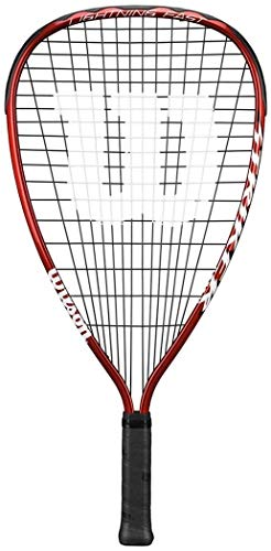 Wilson Aluminium Alloy Frame V-matrix Beam Striker Racketball Sports Racket Red