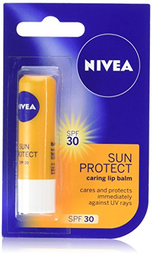Nivea Sun Protect Caring Lip Balm, 5.5ml